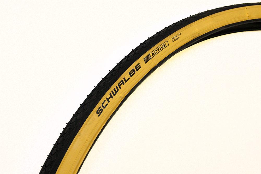 Pneu Schwalbe gumwall route vélo pneu hs159 rigide 27 x 1 1//4