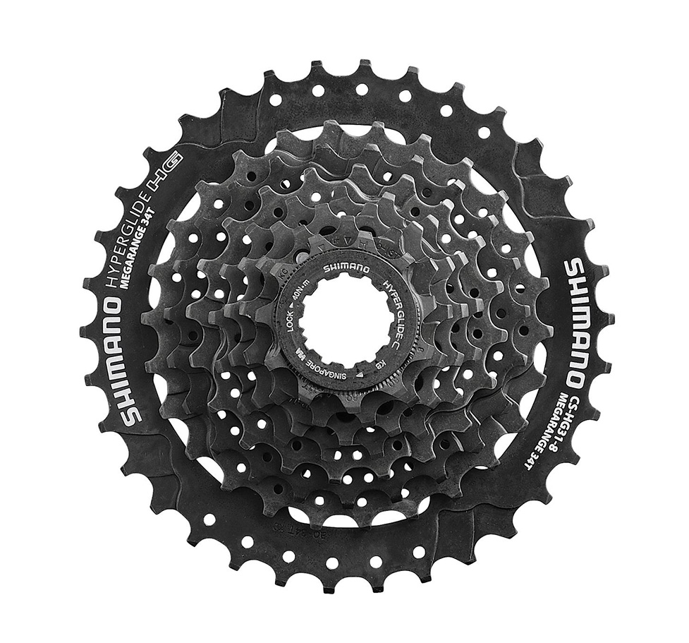 SHIMANO ALTUS CS-HG31 HYPERGLIDE 8 SPEED---11-32T MTB BICYCLE CASSETTE